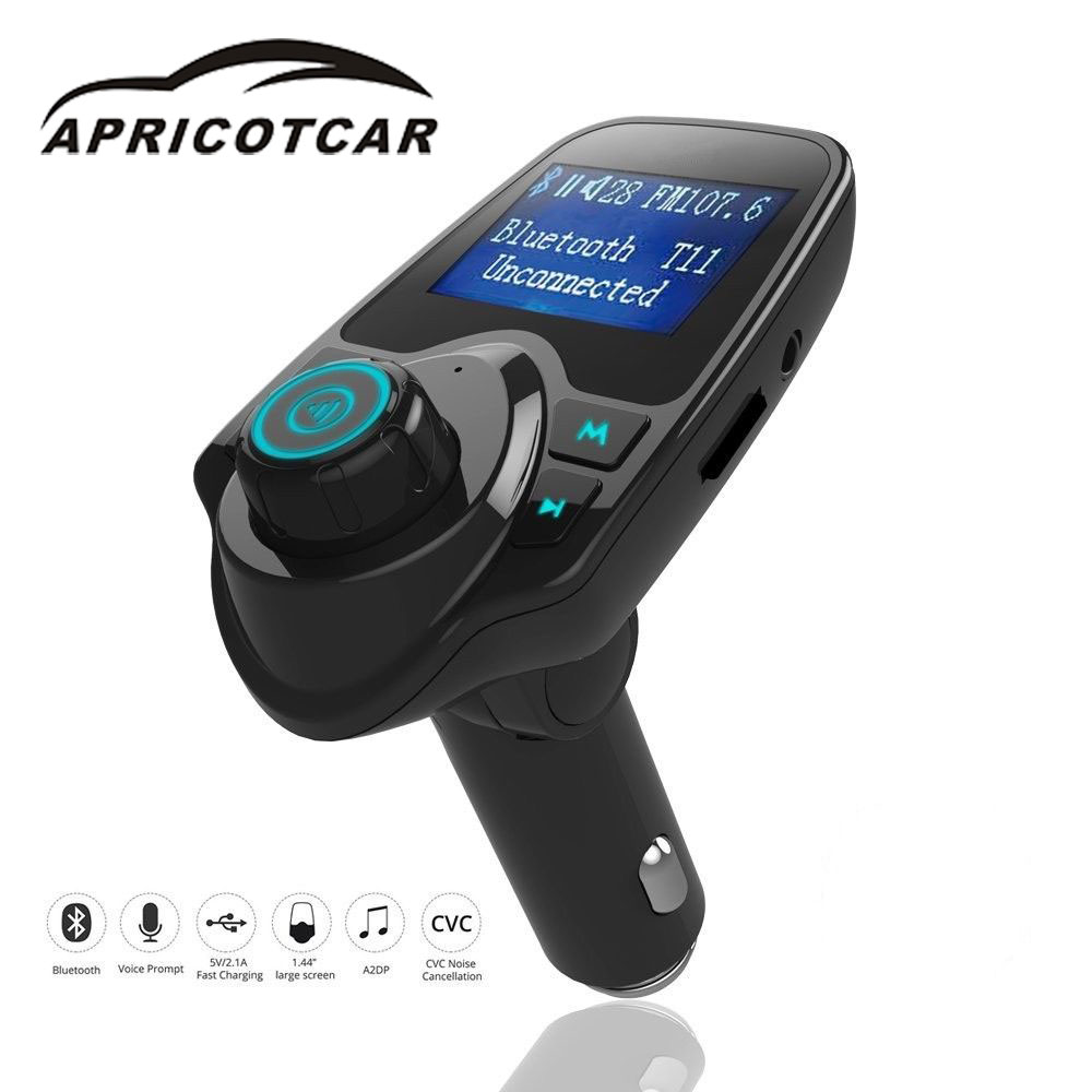 цена на Wireless Radio Adapter Bluetooth Car USB Charger FM Transmitter Mp3 Player Car cigarette lighter U disk AUX lossless music