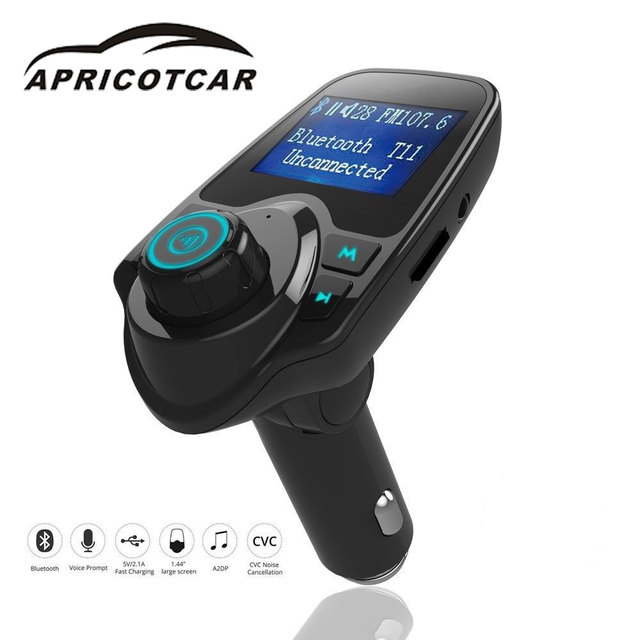 Wireless Radio Adapter Bluetooth Car USB