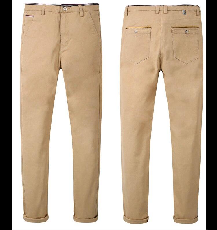 HTB1l2sKsY5YBuNjSspoq6zeNFXa6 HCXY 2019 Men Pants Cotton warm Straight Trousers autumn and winter Men's Plus velvet Casual Pants Plus size 28-38