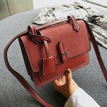 Scrub Pu Leather Crossbody Bags for Women Messenger Bags 2018 Fashion Leather Bags Handbags Women Brand Shoulder Bags