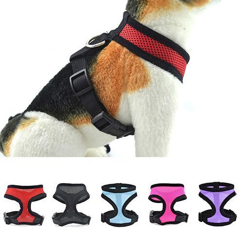 Zelfbewust 20 # Hot Pet Producten Hond Puppy Walk Kraag Zachte Mesh Veiligheidsgordel Vest Verstelbare Pet Controle Harness Hond Carriers En Digestion Helping