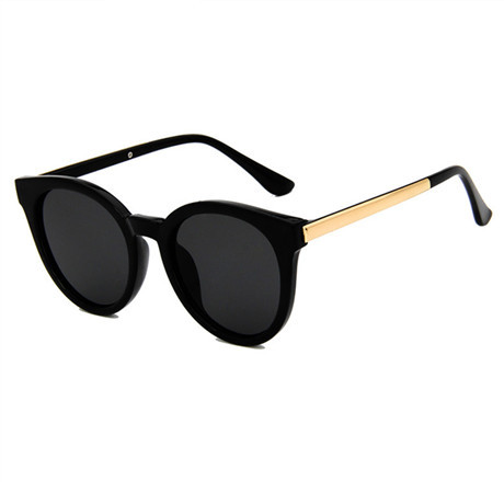 2019 new fashion ladies sunglasses retro brand design round men's glasses UV400 anti-UV driving reflective sunglasses