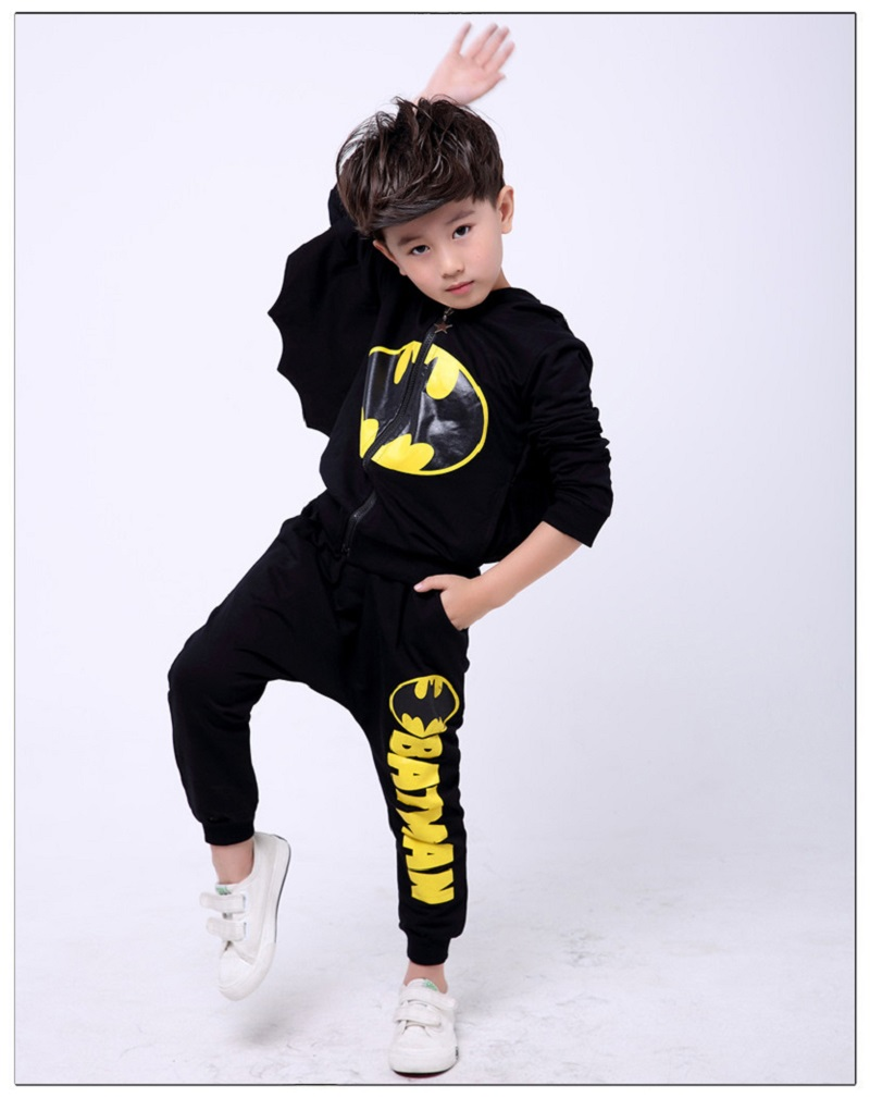 Spider-Man 2 Piece Kids Clothes set Fall 2017 Boys Clothing Kids Sets Cotton Children's Sports Suits Teenage Hooded 3-10 Years spider man style surfing clothes for 3 10y little boys kids one piece beachwear swimwear high quality children clothing