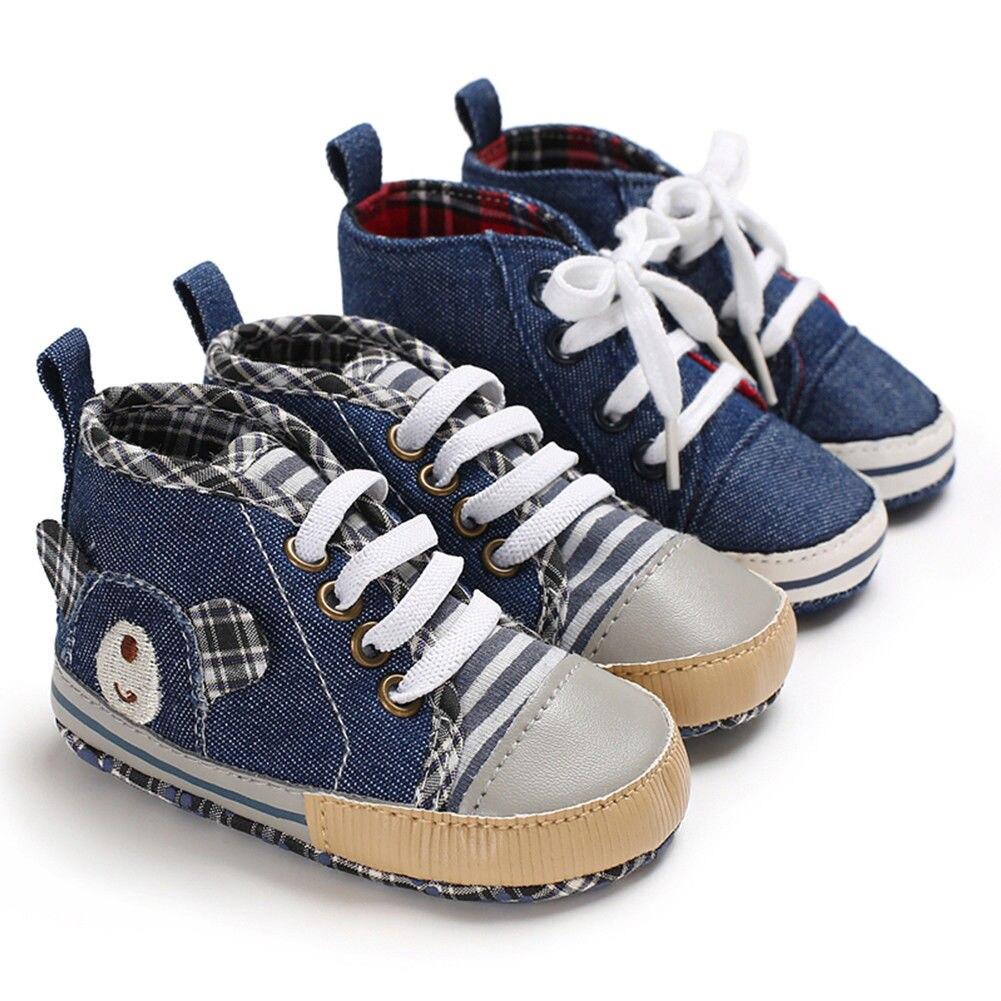 Diplomatisch Emmababy Infant Kleinkind Baby Jungen Mädchen Alle Jahreszeiten Zwei Farben Weiche Sohle Mode Krippe Schuhe Neugeborene Bis 18 Monate Hochwertige Materialien Krippe-schuhe