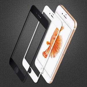 Image 5 - フルカバースクリーンプロテクター強化ガラス iphone 6 6 S プラス 6 プラス 7 8 プラス X 5 S SE 5 S XR XS 最大 2018 前面保護フィルム