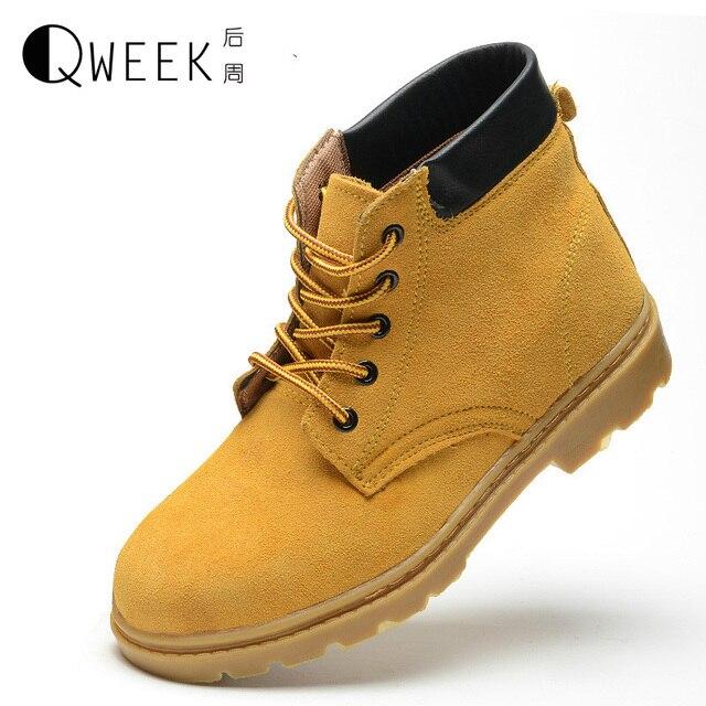 8d6465ecf96dc QWEEK Hombres Botas Botines Zapatos de Trabajo de Seguridad Botas De  Seguridad con Puntera De Acero