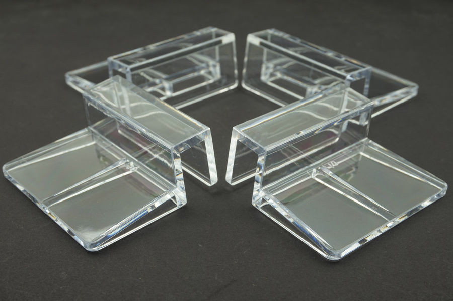 4 pcs lot aquarium tank clear plastic clips glass cover for How strong is acrylic glass