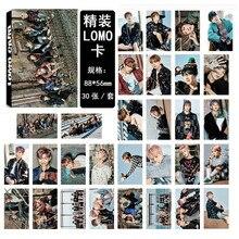 SGDOLL KPOP BANGTAN BOYS BTS YOU NEVER WALK ALONE LOMO CARD Photo Poster 30pcs a Set