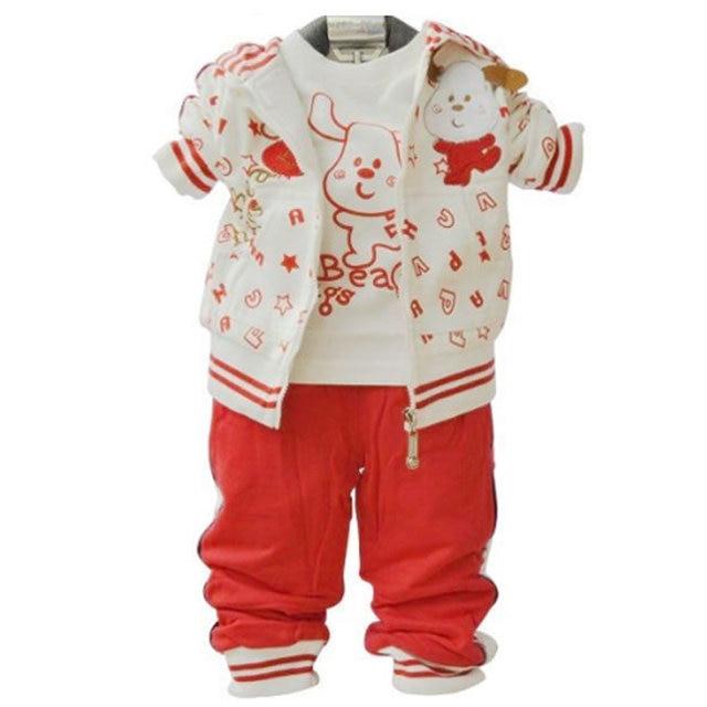 ccb62b00a0475 Noël 1st anniversaire tenue pour bébé garçon fille ensemble Boutique  vêtements 3 pc coton costume enfant