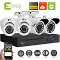 Cnhidee KIT Câmera De Vigilância De Vídeo Sistema de Câmera de Segurança Em Casa sistema de Vídeo 4CH HD Noite Ao Ar Livre Visão 960 P Cúpula de Buiten.