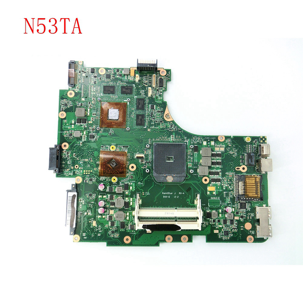 N53TA HD6380G mainboard REV 2.0 For ASUS N53T N53TA Laptop motherboard MAIN BOARD 216-0810005 100% Tested Working hannabach nylon classical guitar strings 600 & 800 silver plated 728 custom made 815 silver special 825 pure gold 850 psp