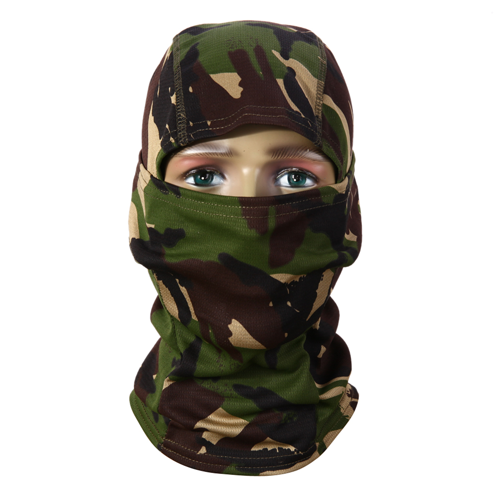 3d Hunting Hunter Camouflage Camo Headgear Balaclava Face