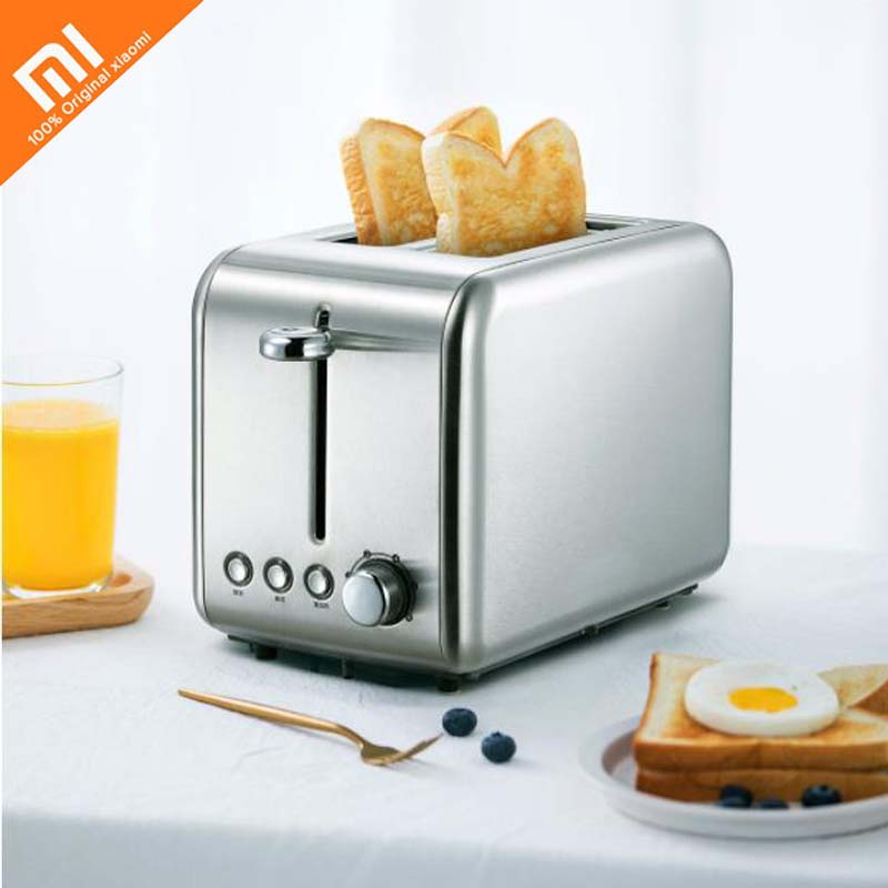 Xiaomi youpin electric toaster stainless steel bread baking machine breakfast sandwich defrosting reheat kitchen toast Smart