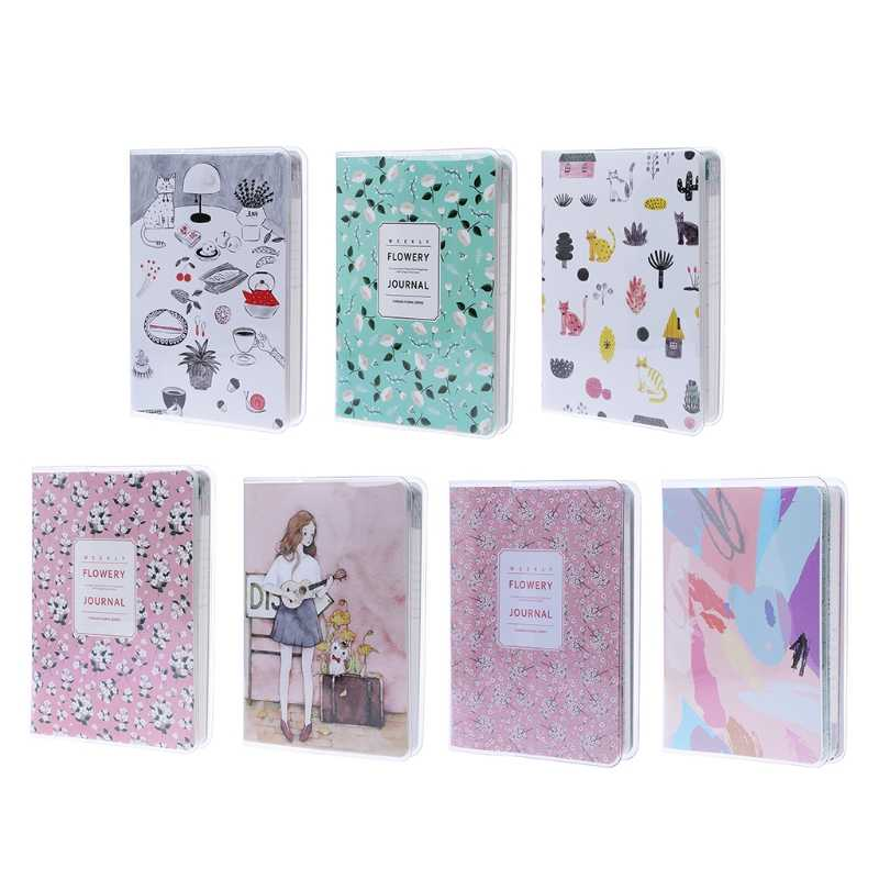 Cute Notebook Daily Monthly Weekly Planner Notebook Agenda Calendar School Supplies Stationery Gift