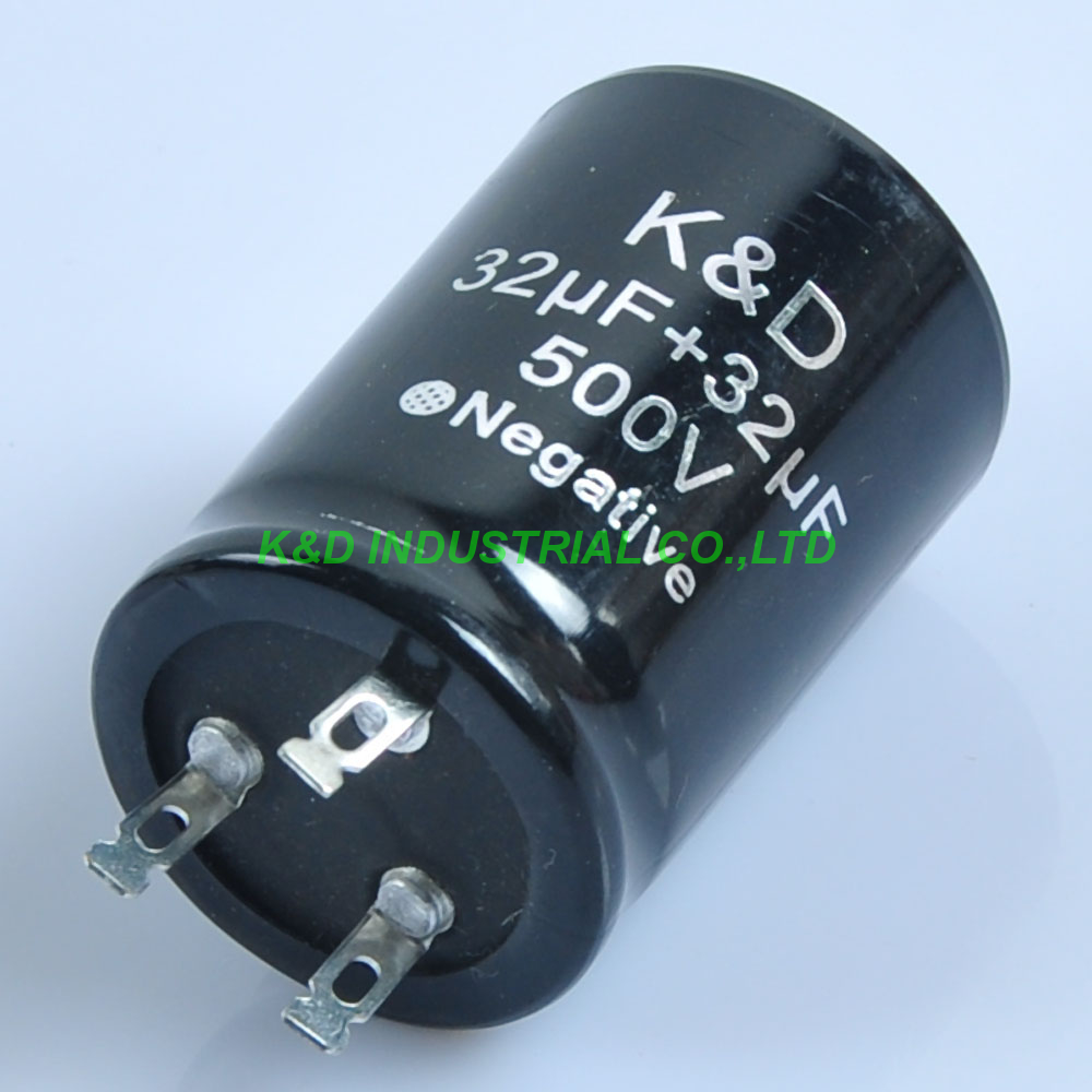 4pcs 35*50mm Can Eelectrolytic Capacitor 32uf + 500V Guitar Amp