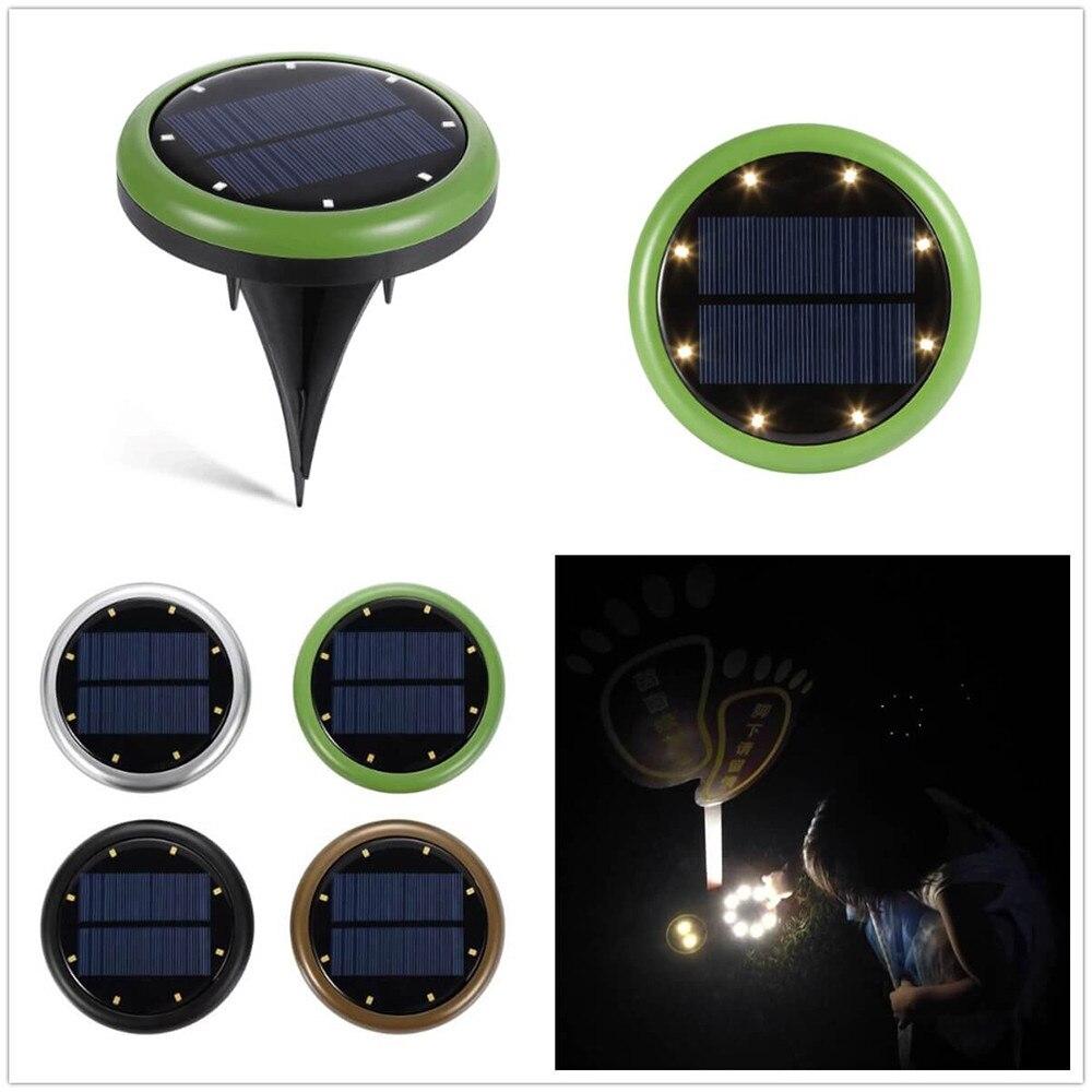 4 lâmpada solar do jardim ao ar