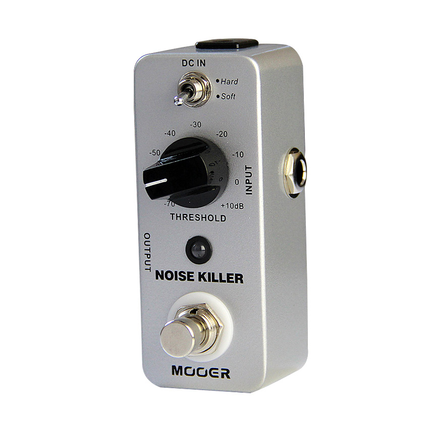 Mooer Noise Killer Chitarra Effetti A Pedale 2 Modalità di Lavoro (Hard/Soft) Chitarra Accessori Per Chitarra A Pedale True Bypass