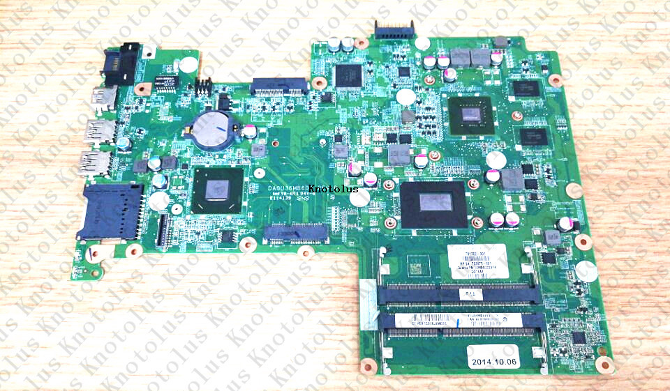 725070-501 725150-501 for HP Pavilion Sleekbook 15 15-B laptop motherboard DA0U36MB6D0 i5 DDR3 Free Shipping 100% test ok 709173 501 709173 001 for hp pavilion touchsmart 15 15 b laptop motherboard a4 ddr3 free shipping 100% test ok