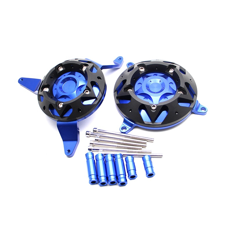 Blue For Kawasaki Z900 Z 900 2017 Motorcycle CNC Aluminum Engine Stator Protective Cover Engine Frame Protective GuardBlue For Kawasaki Z900 Z 900 2017 Motorcycle CNC Aluminum Engine Stator Protective Cover Engine Frame Protective Guard