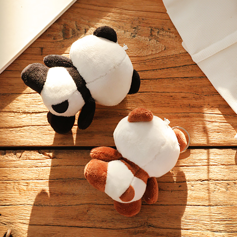 100 pz/set Bella Panda Animale Bambole 10 CM Della Peluche Del Bambino Giocattoli-in Animali di pezza e peluche da Giocattoli e hobby su  Gruppo 3