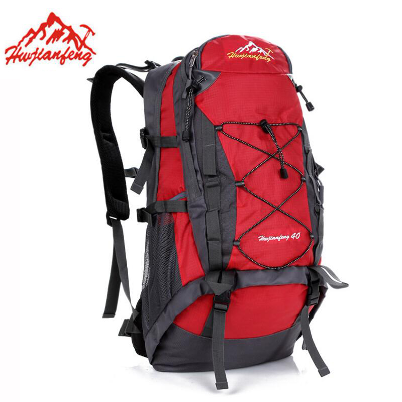 40L Waterproof Hiking Bag Outdoor Backpack Sports Bag Cycling Climbing Rucksack Men Women Travel Backpack Outdoor Camping Bags