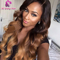 T1b/4/30 Blonde Ombre Wig Brazilian Human Hair Full Lace Wigs Glueless Lace Front Wig with Baby Hair Left Part U Shape Wig