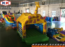 Giraffe jumpers giraffe bouncy castle with PVC roof