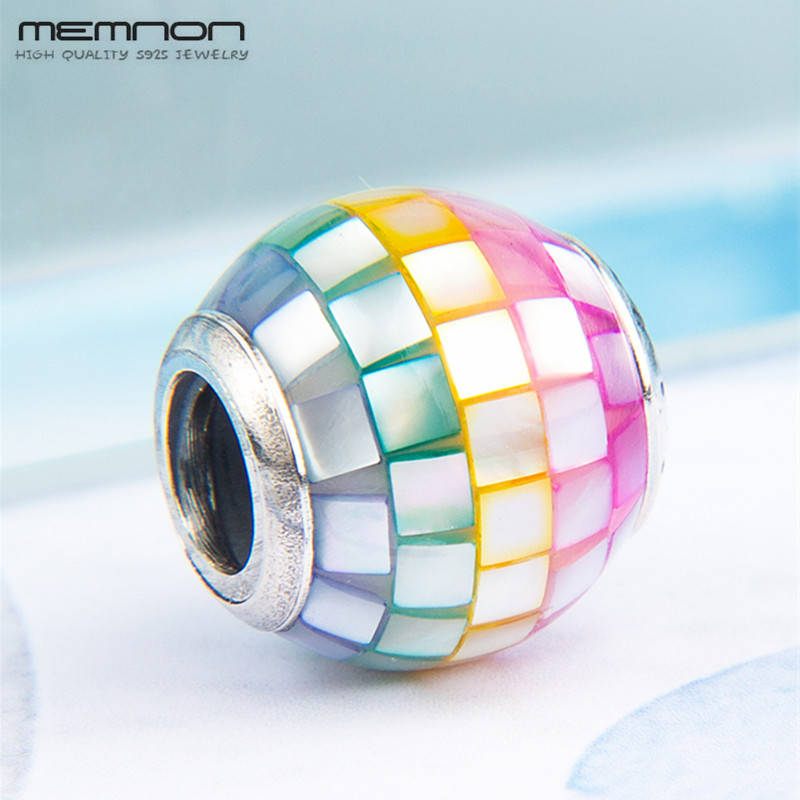 2018 new Summer collection colorful charms beads 925 sterling silver jewelry fit charm bead bracelet bangles DIY for women BD172 in Charms from Jewelry Accessories