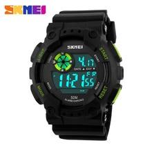 Relogio Digital Relojes Deportivos Hombres Relojes Digitales 50 M Impermeable Multifunción Escalada reloj de Buceo Reloj de Los Hombres LED Digital