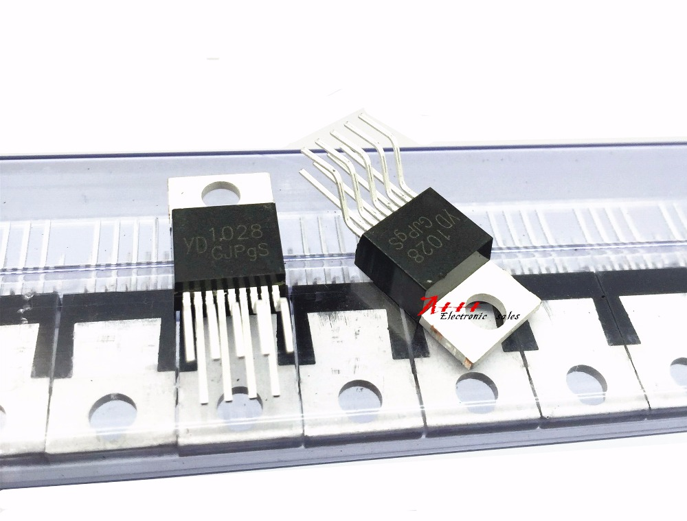 New and original 50PCS YD1028 YD 1028 TO-220-9 two-channel audio amplifier