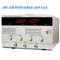 3010D DC power adjustable linear 30V10A digital aging test maintenance regulator source Constant voltage and current full load