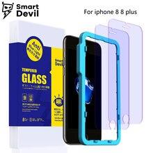 Smartdevil Новый Закаленное стекло для apple iphone 8 8 плюс смартфон анти-синий свет протектор фильм экран мобильного телефона защитная