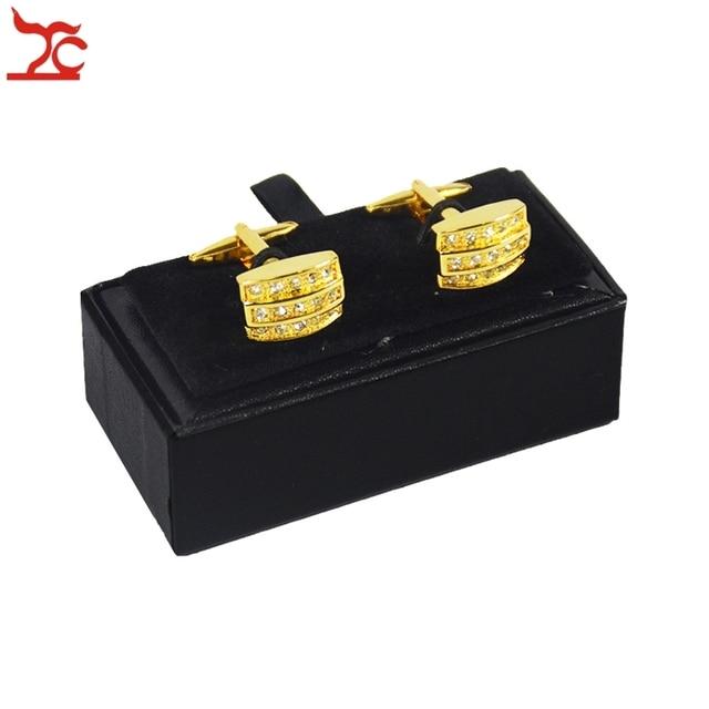 Wholesale 10Pcs Mens Black Cufflink Box Classicia Gift Jewelry Box
