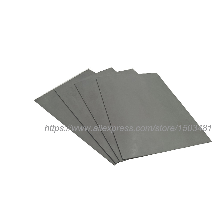 5pcs/lot Laser Rubber Sheet Trodat  297*210*2.3mm   A4 Size    Grey  For Laser Engraving Machine  Free Shipping