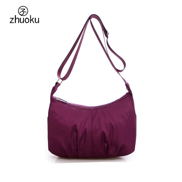 Women S Handbags Waterproof Nylon Crossbody Bags For Lightweight Portable Shoulder Bag Mother Birthday Gift Z303