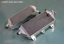 Высокая производительность L и R из алюминиевого сплава радиатор для Yamaha YZ450F YZF450 YZ 450 F 4-stroke 2010 2011 2012 2013