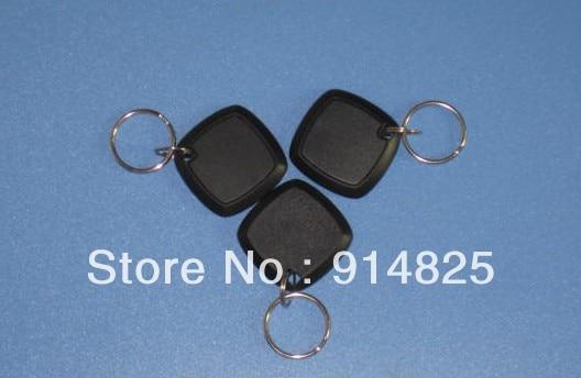 DWE CC RF 100pcs/lot + free shipping  125khz TK4100 EM-ID rfid access control keyfob  keychain dwe cc rf 2017 hot sell 13 56mhz 12v wg 26 rfid outdoor tag reader for security access control system