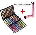 Sombra de ojos profesional paleta 180 colores moda único EyeBeauty maquillaje Neutral de sombras de ojos paleta de maquillaje + compone el Kit del cepillo