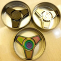 1 PC EDC Toys Professional Tri-Spinner Fidget Toy Pattern Hand Spinner Torqbar Fidget Spinner and ADHD Children Adults Toy