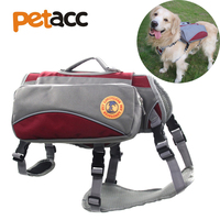 Petacc High Quality Dual Purpose Pet Harness Large Pet Bag Dog Backpack For Outdoor Use