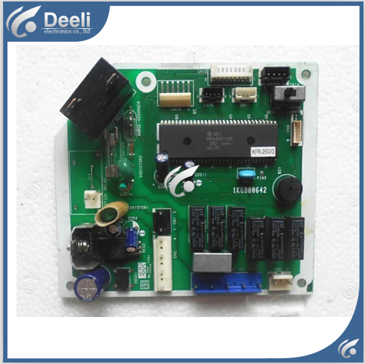 Подробнее о 95% new good working for air conditioning computer board KF-23G 1KGD00642 PC board control board on sale 95% new good working for air conditioning computer board a742148 a742498 a741495 a741358 a71814 pc control board on sale
