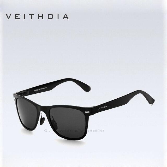 VEITHDIA Reto Men Polarized  Sunglasses Aluminum  Mirror Male Driving Outdoor Eyewears Accessories Sun Glasses For Men 2140
