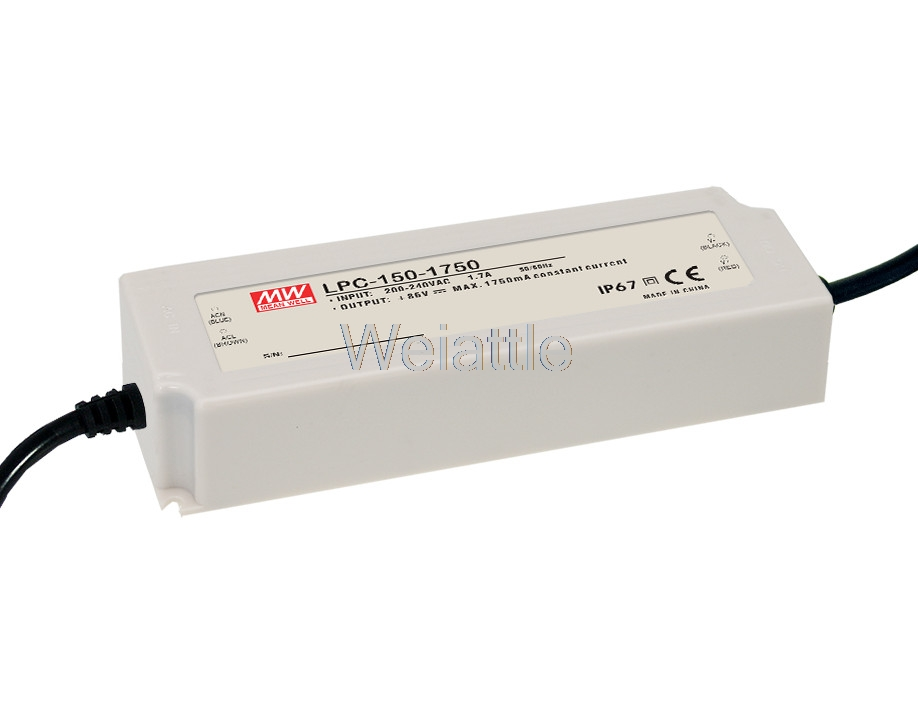 LPC-150-2100 86/72/62/54/48V 1750/2800/3500mA MEAN WELL 150W AC-DC LED Lighting Drive Switching Power Supply Constant Current 150w 2800ma waterproof led driver meanwell lpc 150 2800 constant current design