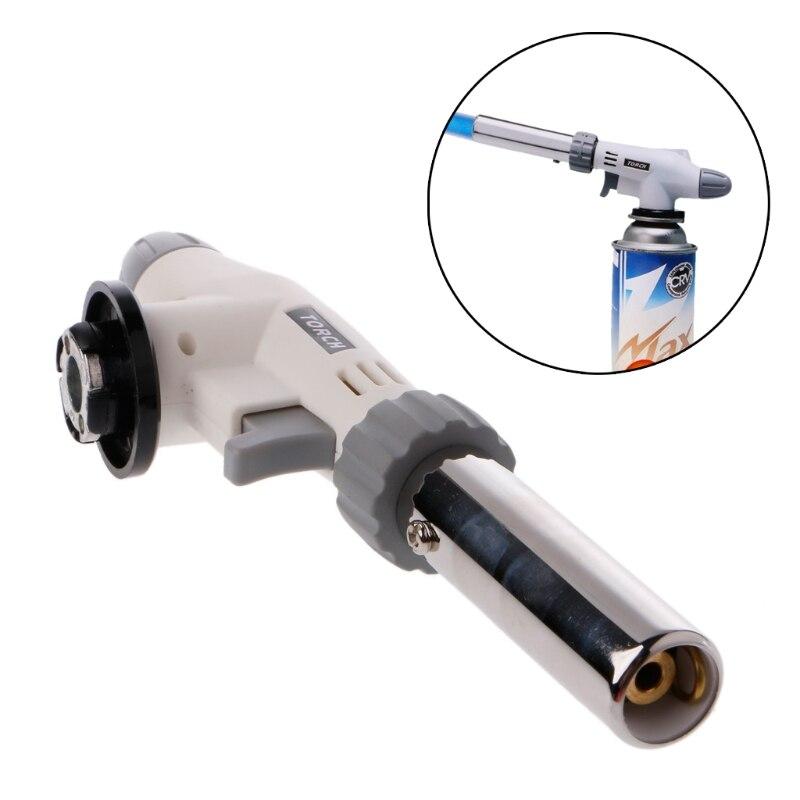 Metal llama Gun soldadura Gas antorcha encendedor de encendido butano que acampa Portable antorchas de soldadura