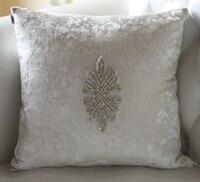 #994 nowy neo-klasyczna minimalistyczna luksusowa diamond kwadratowe poduszki poduszki bez wypełnienia lędźwiowego pad rozkładana sofa łóżko grudnia hurtownie