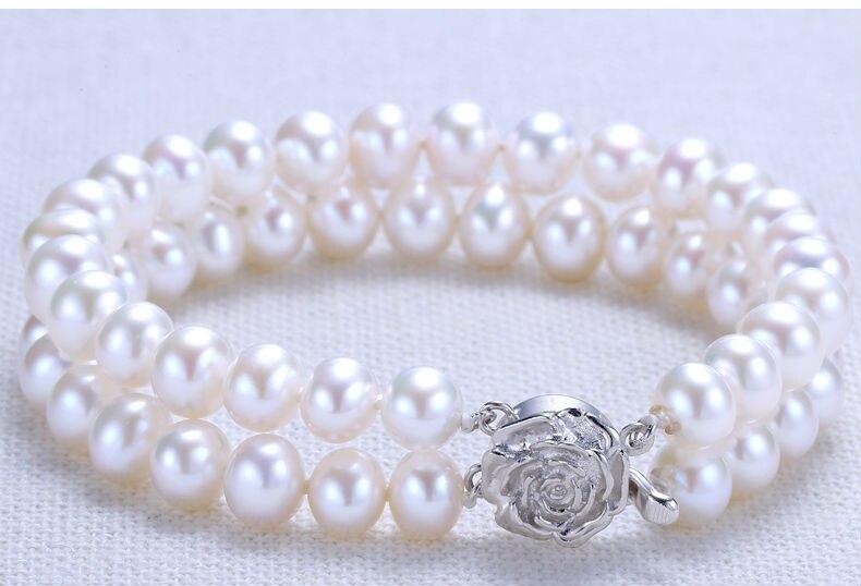 freshwater pearl bracelet 100