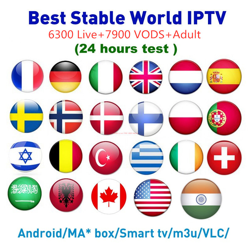Worldwide delivery iptv europe channels in NaBaRa Online