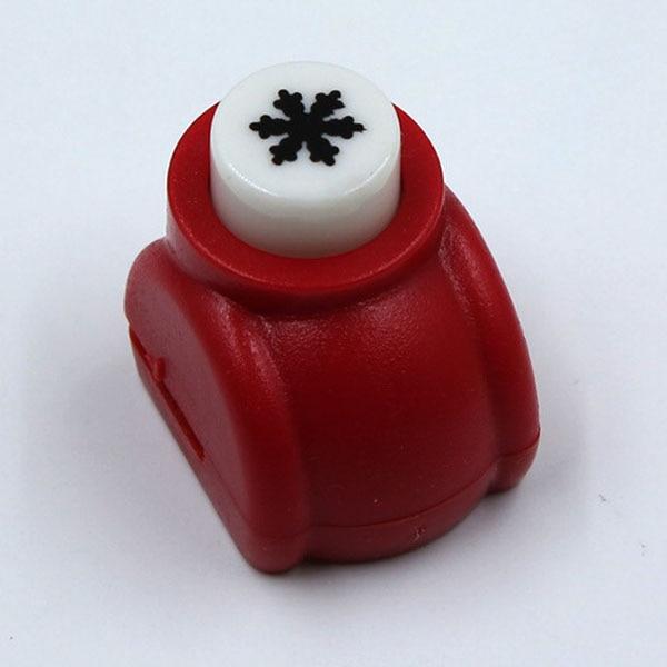 1 шт./лот, мини-дырокол для рукоделия, для скрапбукинга, Дырокол ручной работы, дырокол для рукоделия, подарочная карта, бумажный дырокол, CL-1203 - Цвет: snowflake