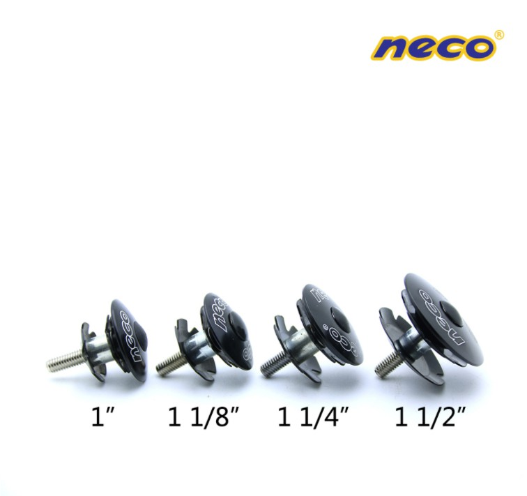NECO LOGO BICYCLE MTB HEADSET STEM TOP CAP