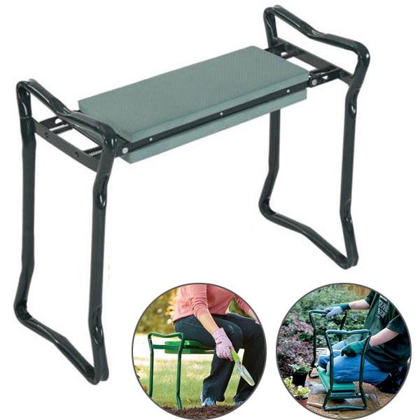 Magrace Folding Stainless Steel Garden Kneeler Stool EVA